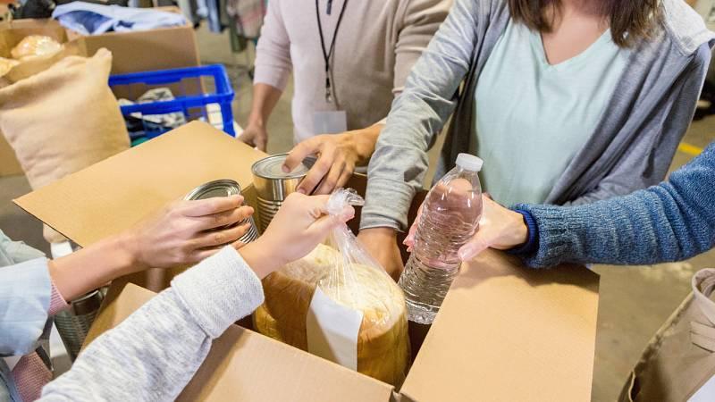 ¿Qué está ocurriendo con los bancos de alimentos?