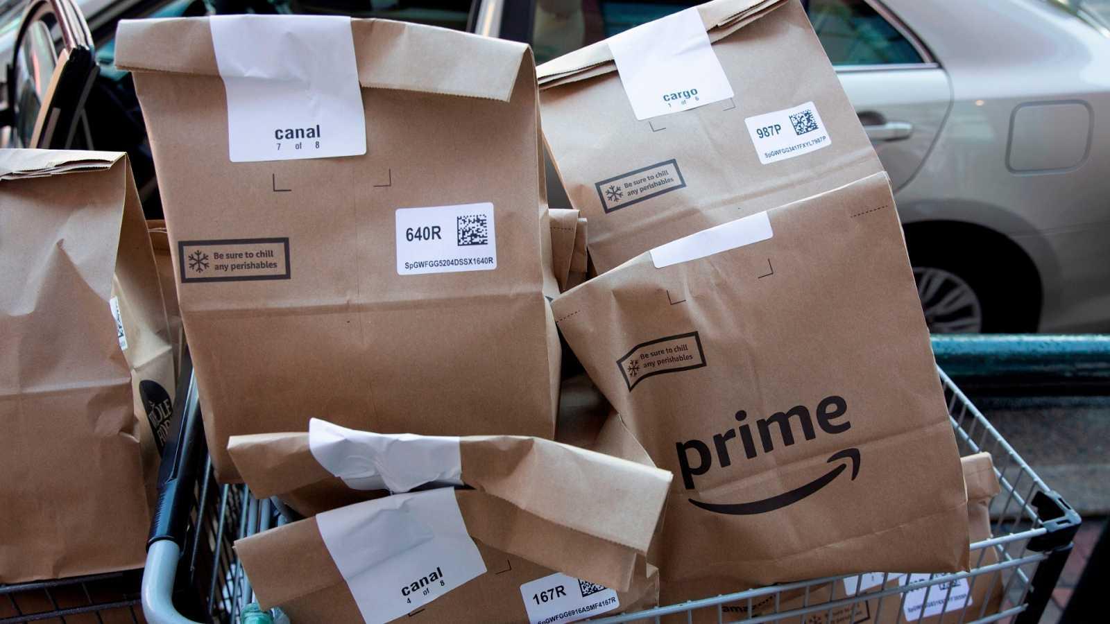 Amazon suspende su actividad en Francia hasta el 20 de abril