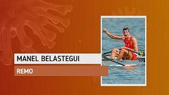 """Manel Belastegui: """"Esperamos tener el verano tranquilo para entrenar"""""""