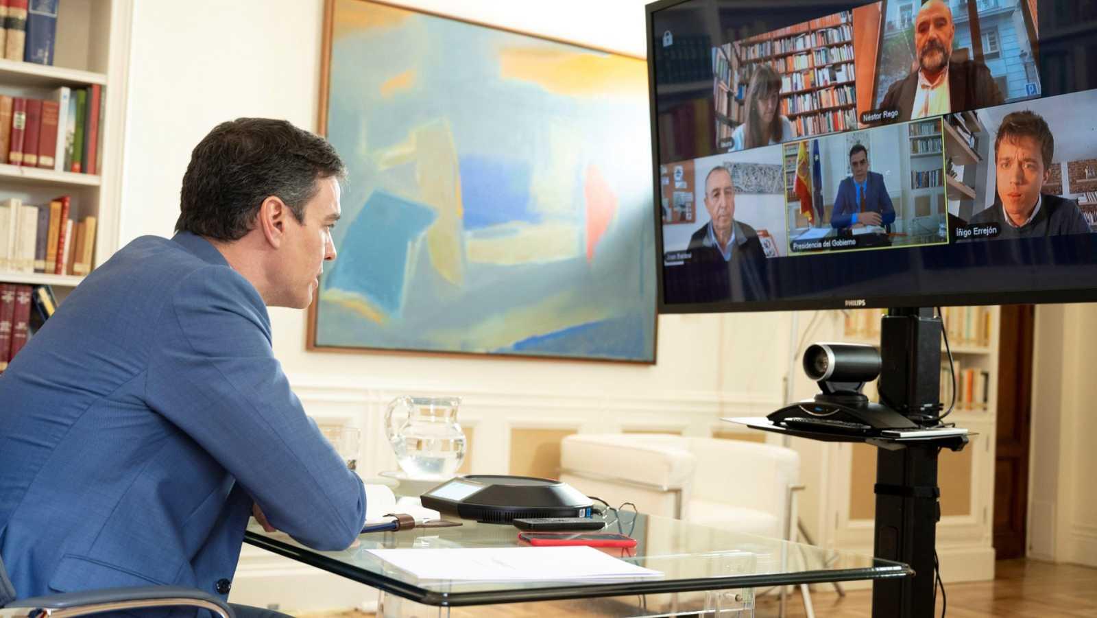 La reunión de Sánchez y Casado para una Mesa de reconstrucción sigue sin fecha, pese a la presión del Gobierno
