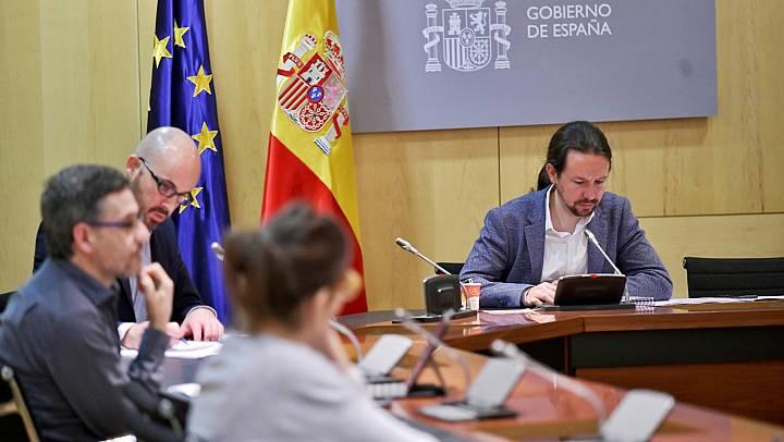 Moncloa da por zanjadas las desavenencias internas en torno a la renta mínima