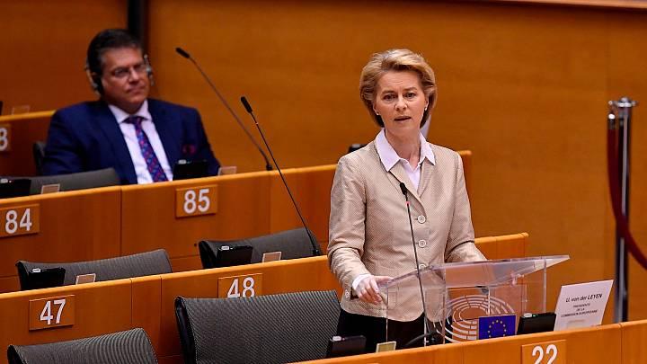 """Von der Leyen: """"Europa debe ofrecer una sincera disculpa a Italia por no reaccionar a tiempo"""""""