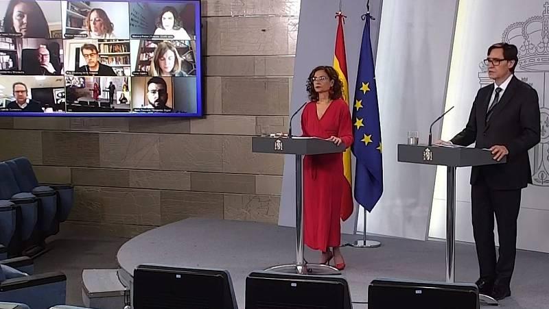 """María Jesús Montero sobre el CIS: """"El derecho a recibir una información de calidad es una de las preocupaciones de los ciudadanos"""""""