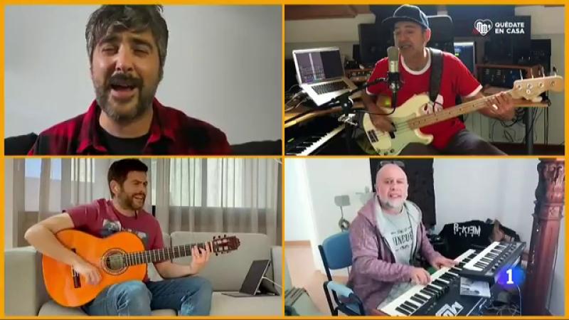 """Estopa nos presenta el videoclip de su nuevo tema """"Corazon sin salida"""", grabado durante el confinamiento"""