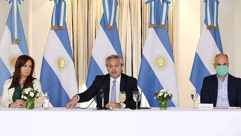 La crisis del coronavirus llega a una Argentina sumida en una crisis económica