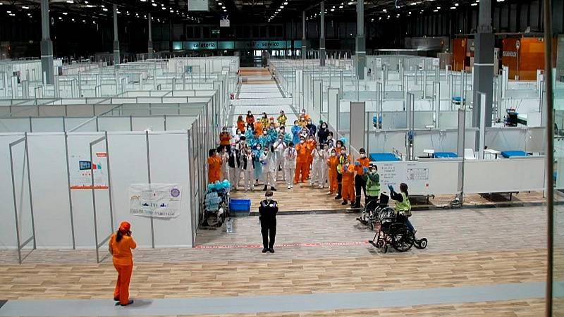Cámara Abierta 2.0 - Jonan Basterra desde el hospital de IFEMA, la plataforma ValPat y el proyecto #ContuMirada - ver ahora