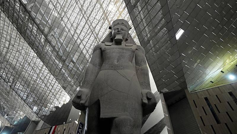 El Coronavirus retrasa la apertura del gran Museo Egipcio junto a las pirámides de Guiza