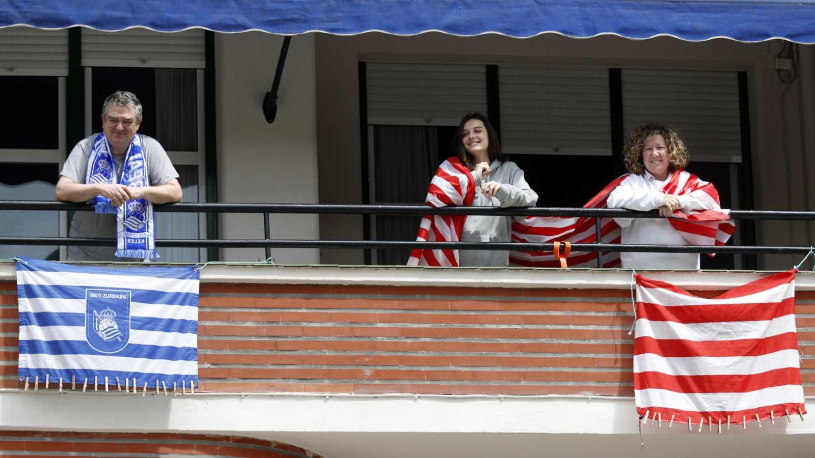 La final de Copa del Rey se juega en los balcones vascos mientras se desconoce aún la fecha para disputarla
