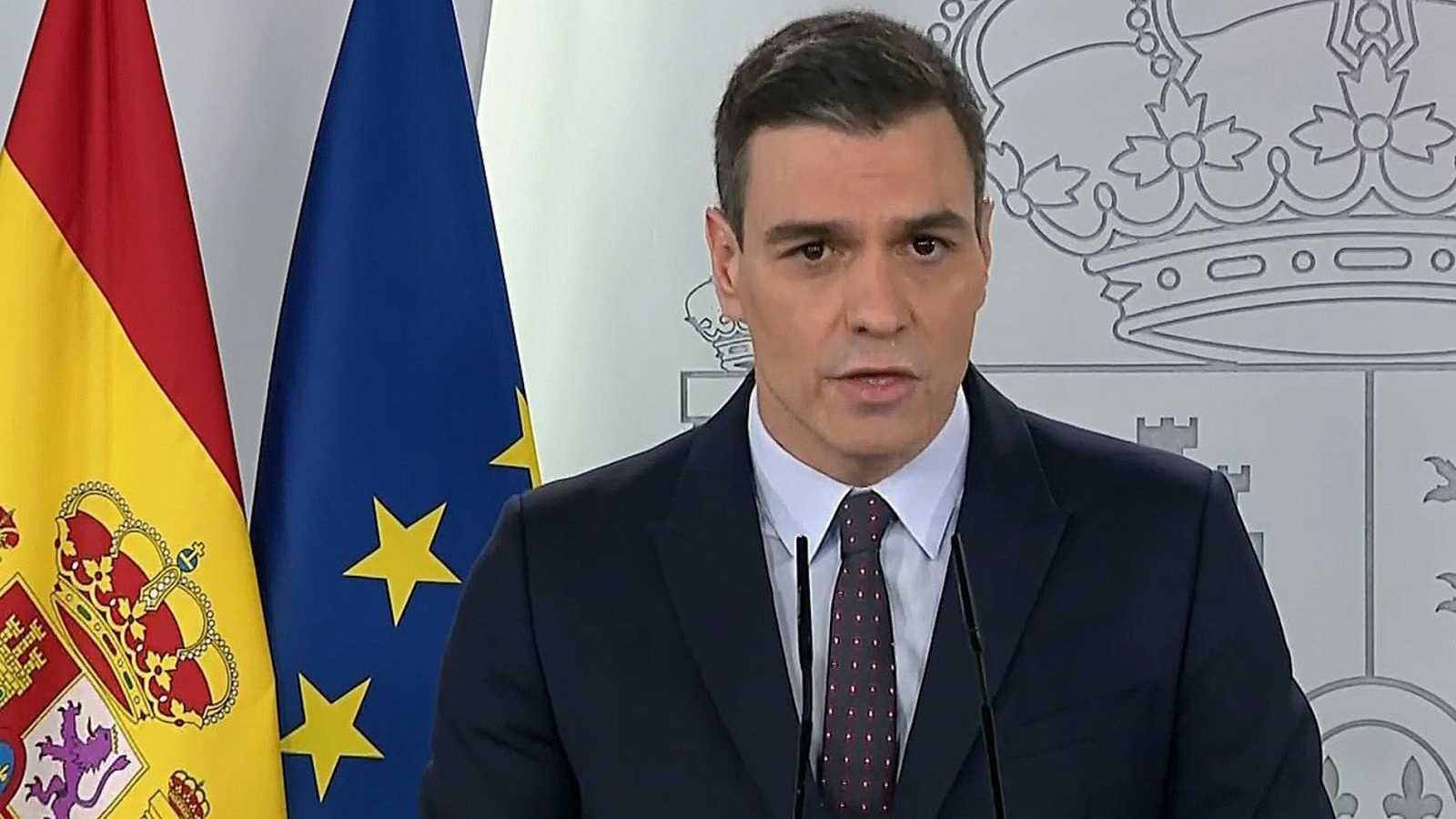 Sánchez propondrá cuatro puntos para la reconstrucción: sistema sanitario, tejido empresarial, protección social y UE