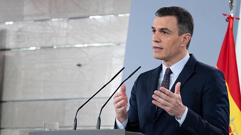 """Sánchez cree que todavía es """"pronto"""" para saber si los españoles podrán ir de vacaciones"""