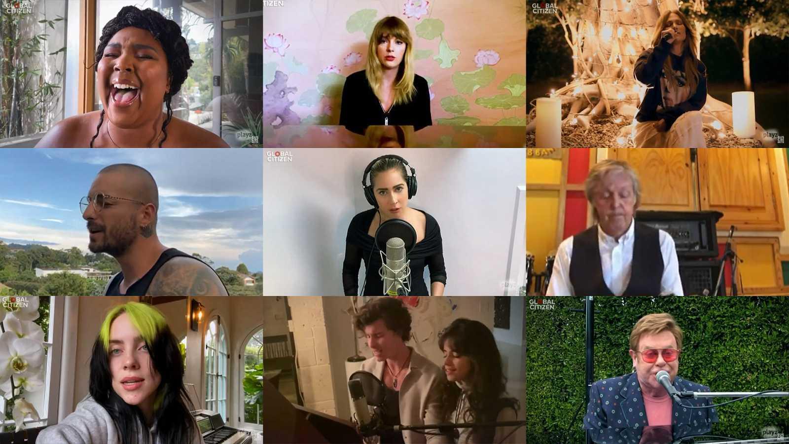 Playlist de 'One World: Together At Home' en Spotify