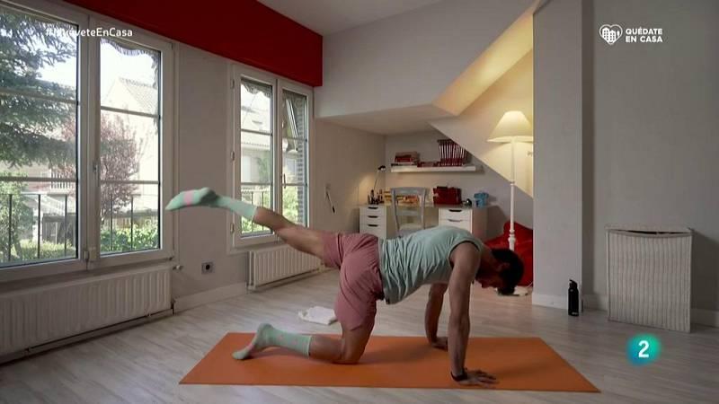 Muévete en casa - Bloque 1: Sentadillas, plancha y escalador