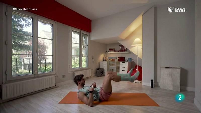 Muévete en casa - Bloque 2: Trabajo abdominal y plancha
