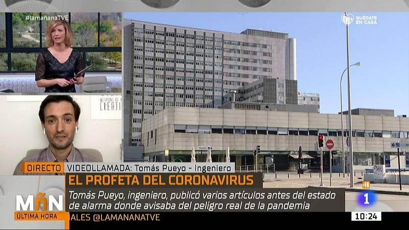 Tomás Pueyo, el ingeniero español que ponosticó la crisis del coronavirus en España antes que nadie