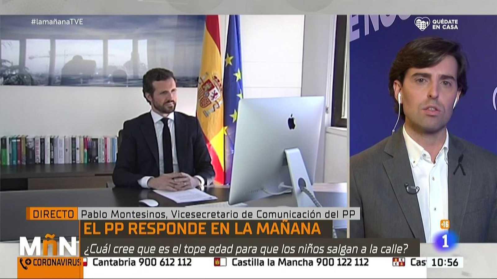 """Pablo Montesisnos sobre los supuestos bots del Ministerio de Sanidad: """"No podemos tolerar que el Gobierno pudiera estar detrás de esto"""""""