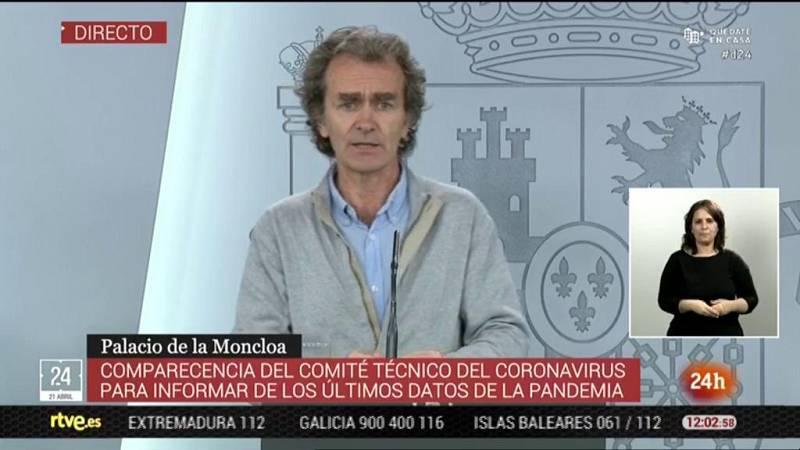 """Fernando Simón: """"El saber el número de infectados es muy importante pero necesitamos conocer otros parámetros"""""""