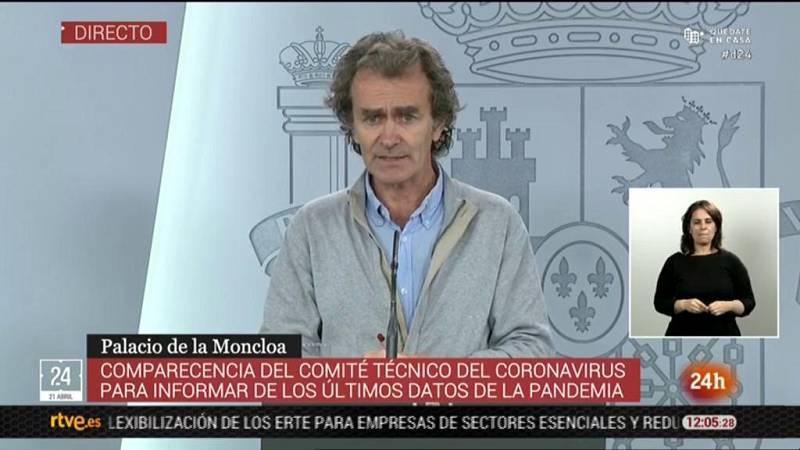 """Fernando Simón: """"Hay comunidades y provincias en las los riesgos de transmisión son nulos o cercanos a nulos"""""""