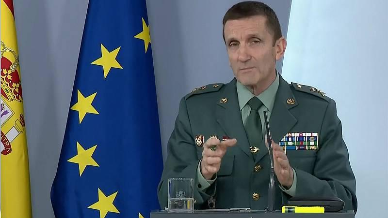 """El jefe de la Guardia Civil defiende que la instrucción dada a sus unidades no afecta a la """"crítica política"""""""