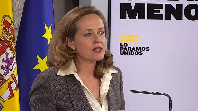 Calviño anuncia nuevas medidas económicas para hacer frente a la crisis