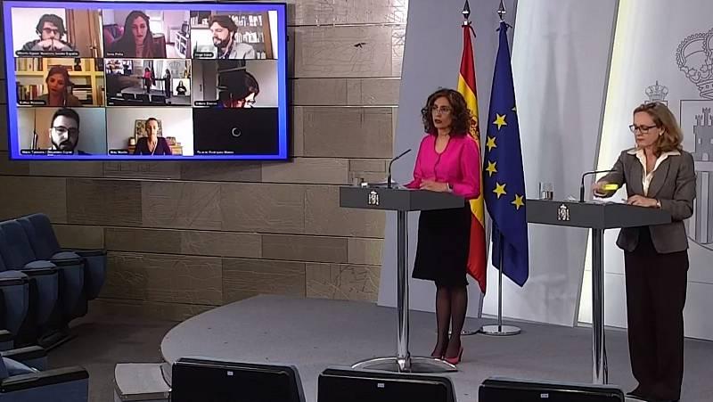 María Jesús Montero agradece el esfuerzo de los Cuerpos de Seguridad y la labor del general José Manuel Santiago