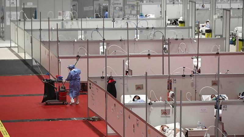 España registra un leve repunte con 430 muertos con coronavirus y 3.968 nuevos casos en las últimas 24 horas
