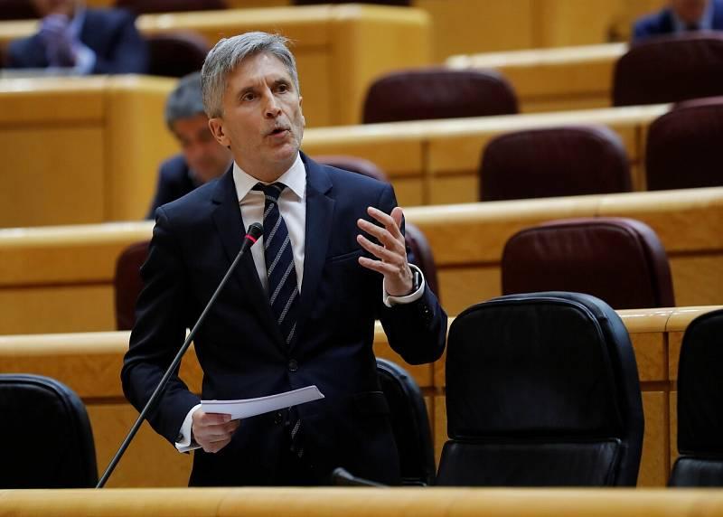 Bronco debate entre Grande-Marlaska y Carlos Floriano