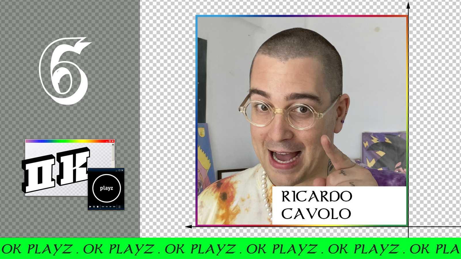 OK Playz - Ricardo Cavolo nos enseña lo qué es el arte marginal