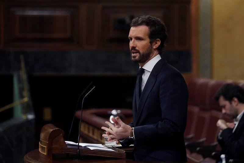 """Pablo Casado: """"El apoyo del PP al pacto de gobierno ha sido el más generoso que haya dado la oposición en la historia democrática"""""""