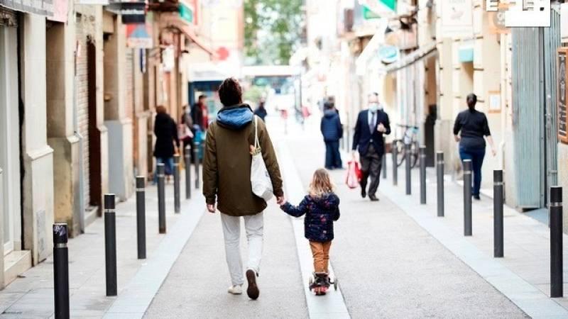 Es importante que los niños puedan dar pequeños paseos pero sabiendo que no salen a jugar