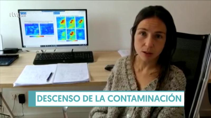 """Elena Sánchez. """"Esperábamos una disminución de la contaminación pero no tan drástica"""""""