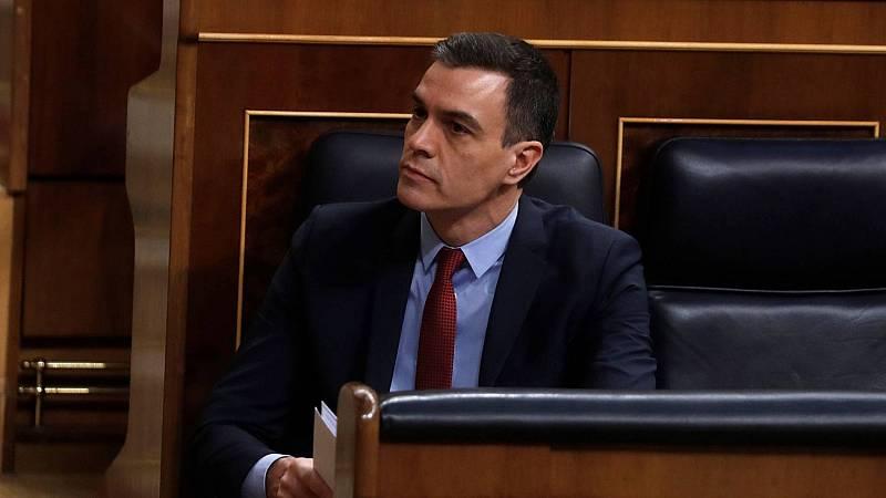 """Sánchez a Casado: """"Hemos cometido errores, pero también aciertos en la gestión"""""""