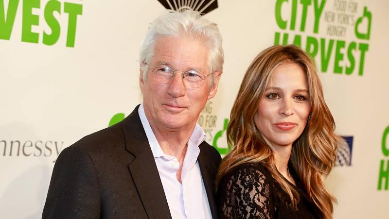 Moda, famosos y tendencias - Richard Gere y Alejandra Silva, padres de su segundo hijo