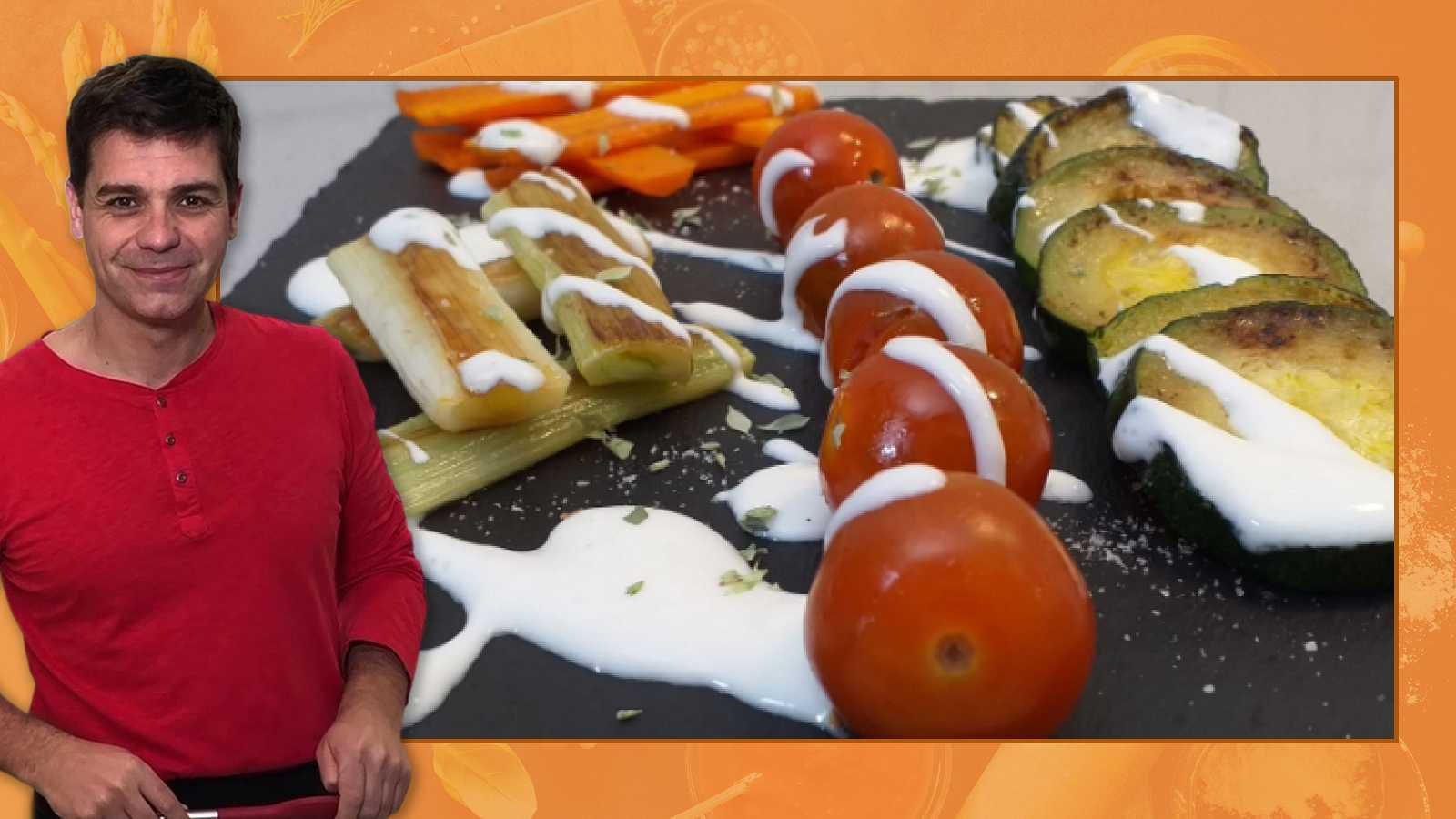 Truco para hacer parrillada de verduras
