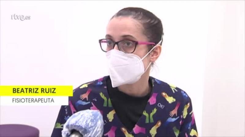 Los fisioterapeutas reclaman material de protección para realizar su trabajo