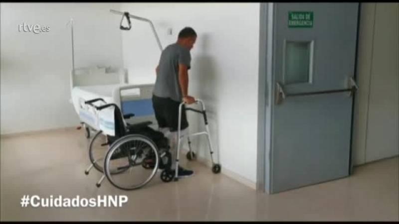 Videollamadas para que los pacientes con lesiones medulares mantengan la forma física