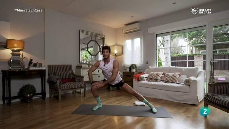 Muévete en casa - ¡Estiramientos y yoga para trabajar la flexibilidad de todos los músculos!