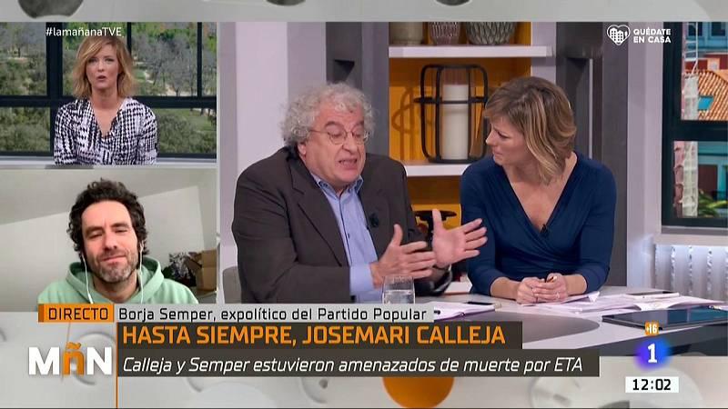 """Homenaje a José María Calleja: """"Lo que no pudo hacer ETA, lo ha conseguido este puto bicho"""""""