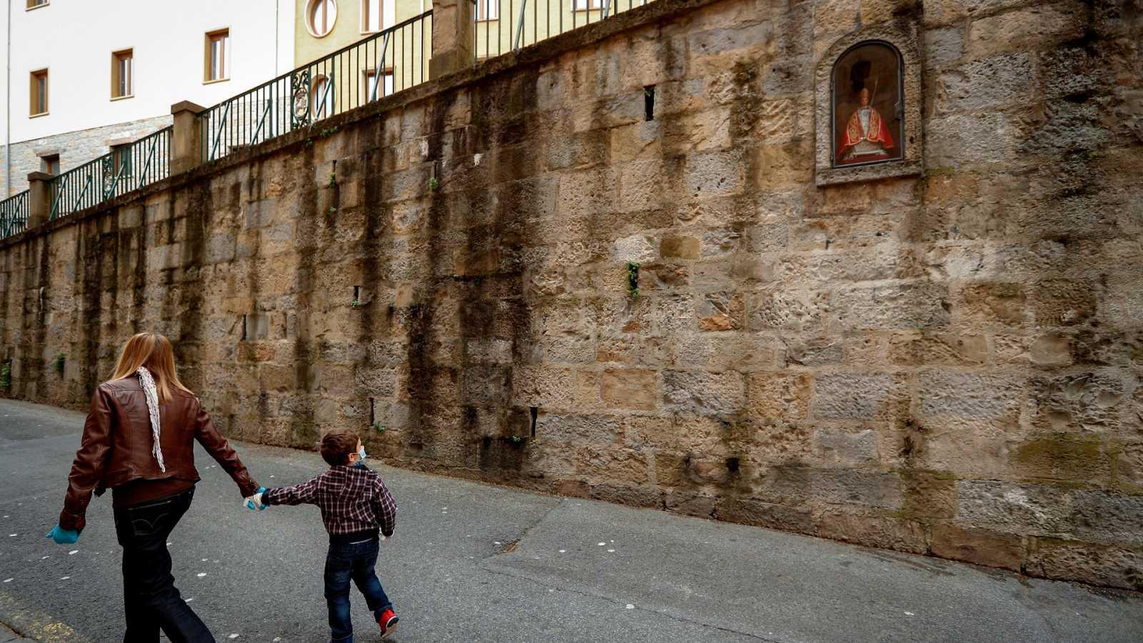 """El Ayuntamiento de Pamplona no descarta celebrar San Fermín en septiembre, cuando en la ciudad se celebra el conocido como """"San Fermín Txikito"""". Sin emabrgo, la evolución de la pandemia marcará el futuro de la fiesta pamplonica."""