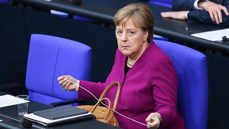 Merkel vuelve a rechazar los 'coronabonos'