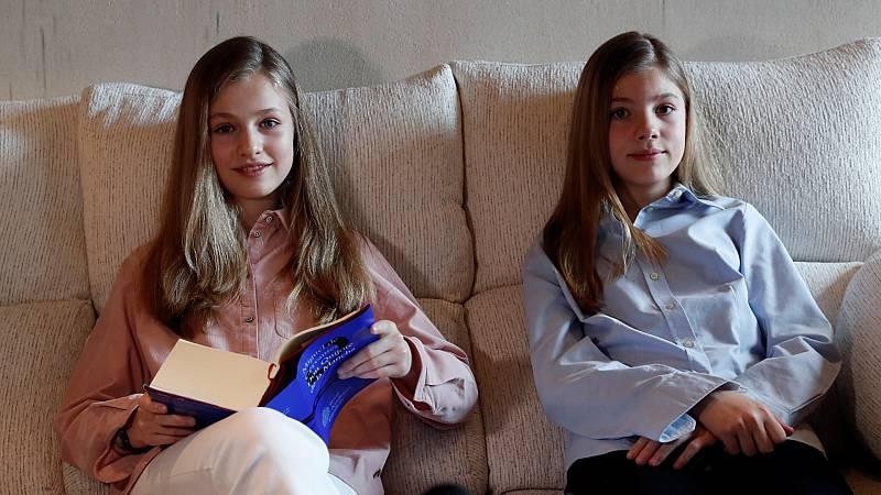 La princesa Leonor y la infanta Sofía envían un mensaje de apoyo a la sociedad española