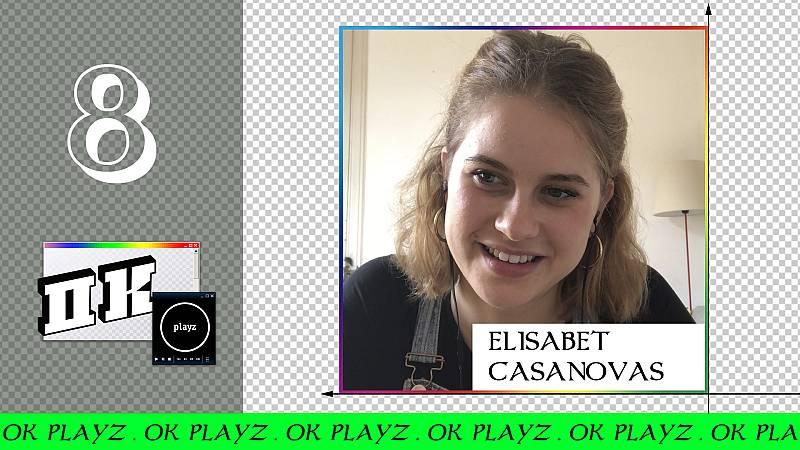 OK Playz - Ignatius sorprende a Elisabet Casanovas en pleno directo