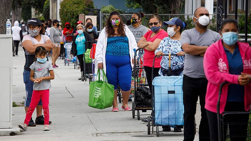 Estados Unidos supera ya los 26 millones de peticiones de ayuda al desempleo