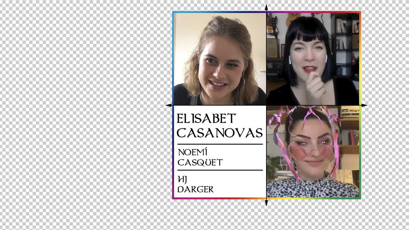 OK Playz - OK Playz con Elisabet Casanovas, Noemí Casquet y HJ Darger