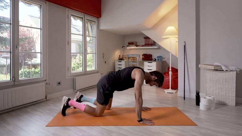 Muévete en casa - Programa 25 (entrenamiento fullbody) - ver ahora