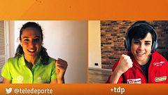 Sara Hurtado y Celia Jiménez, protagonistas de 'Ellas te entrenan en TDP'