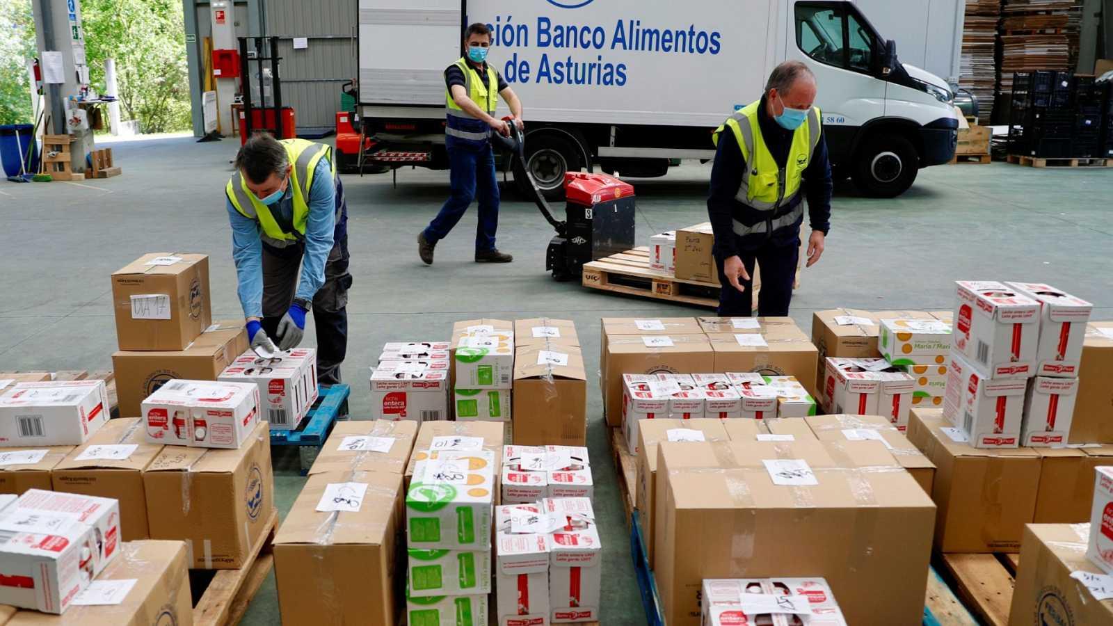 La demanda de ayuda alimentaria se multiplica por cuatro
