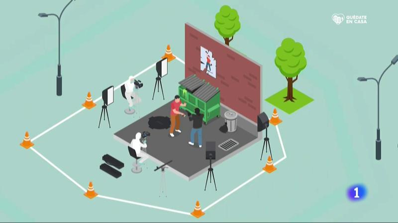 El sector audiovisual prepara protocolos para garantizar la seguridad de los futuros rodajes