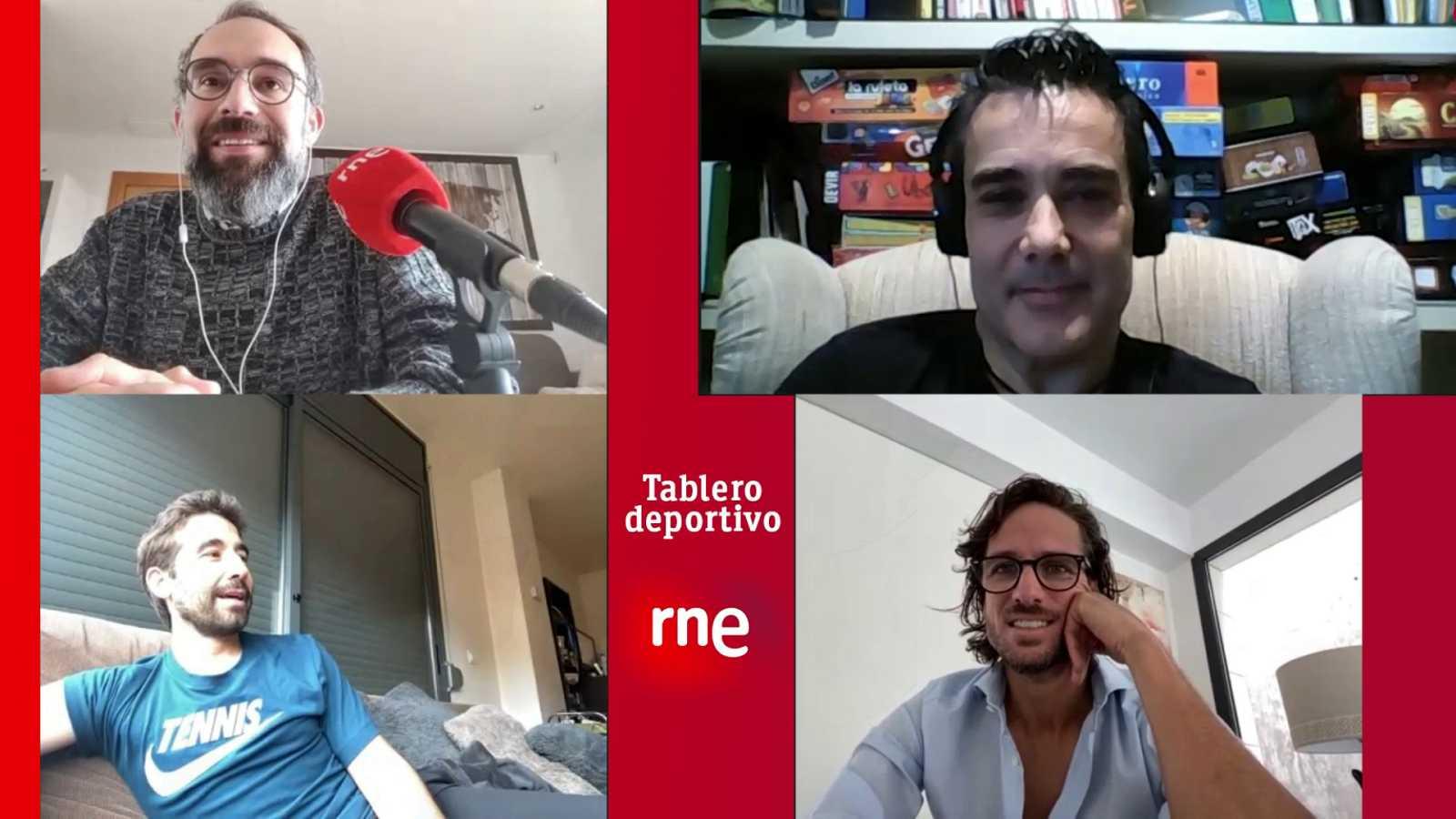 Tablero deportivo - Marc y Feliciano: Los Superlópez en 'Tablero deportivo' - Ver ahora