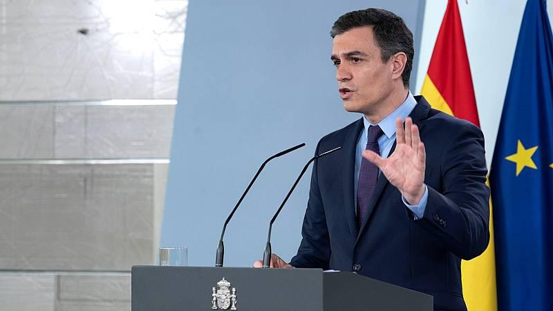 """Sánchez: """"Eché en falta un mensaje del primer ministro holandés hacia España por la crítica inmerecida que hizo el ministro de Finanzas"""""""