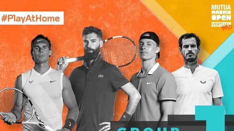 Arranca el Mutua Madrid Open Virtual Pro con Rafa Nadal